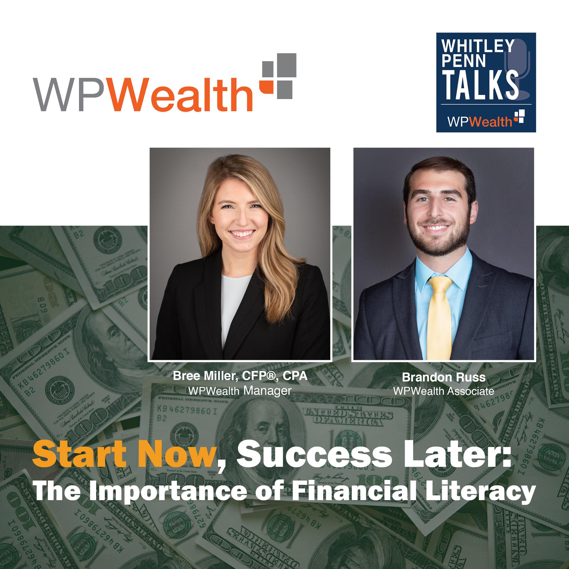 Whitley Penn Talks Financial Literacy Podcast
