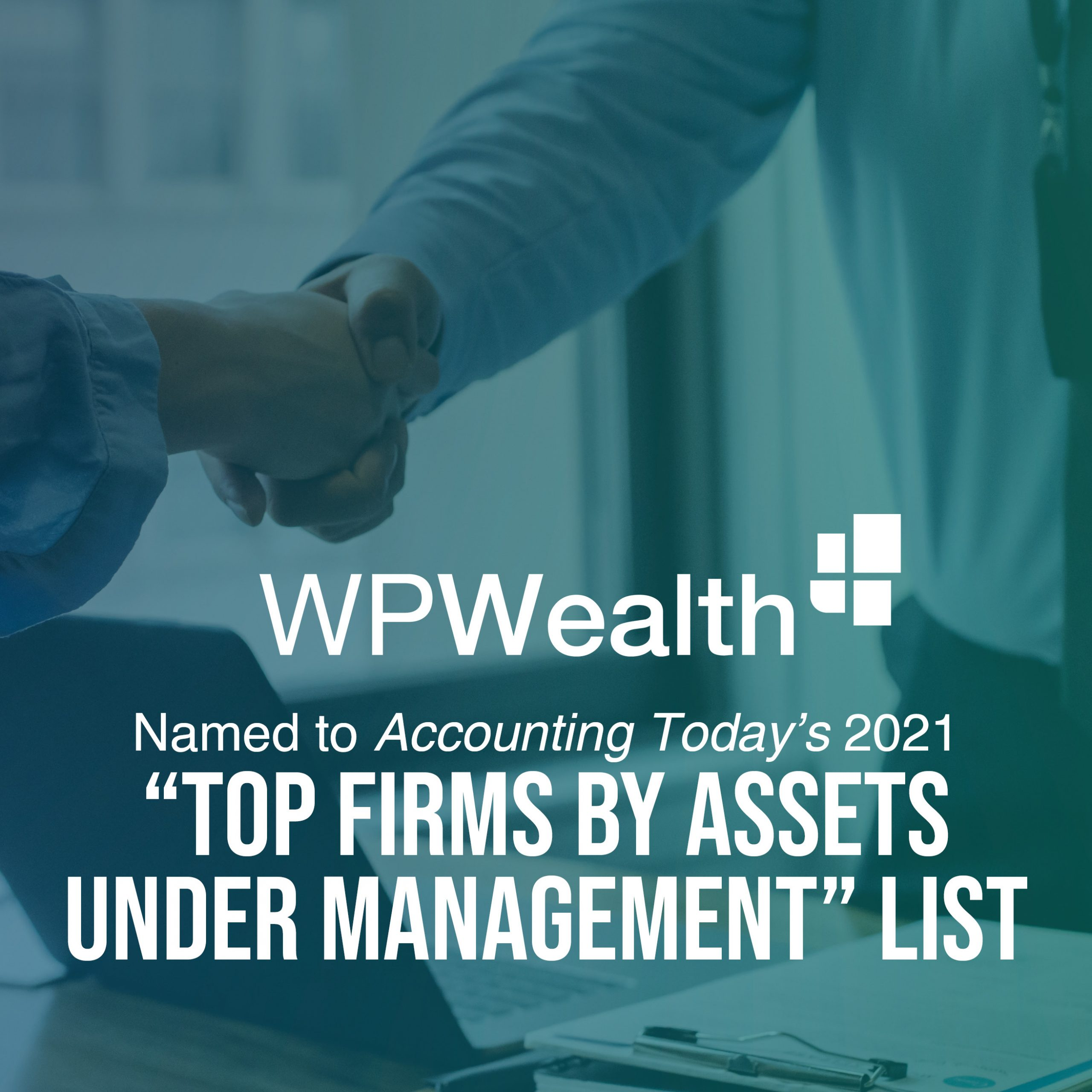 WPWealth named to Top Firms by Assets under management